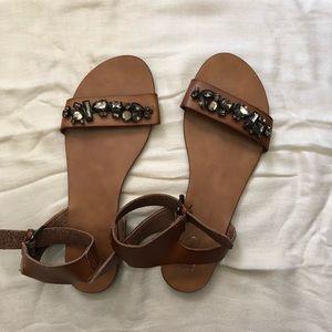 Mossimo Gem Studded Sandals
